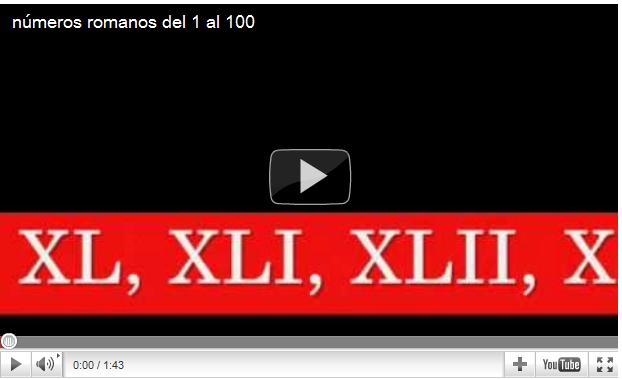 """Search Results for """"Numeros Romanos Del 1 Al 100"""" – Black ..."""