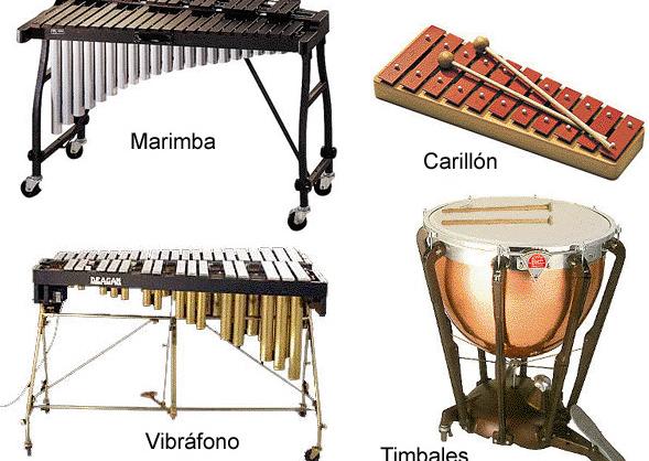 Instrumentos de percusión | Recurso educativo 46125 - Tiching