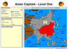 Game: Asian capitals | Recurso educativo 49705