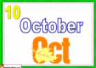 Months (flashcards) | Recurso educativo 18130