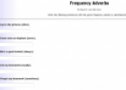 Frequency Adverbs (1) | Recurso educativo 18715