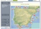 Mapa: Relieve costero de España | Recurso educativo 71511