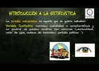 (Estadística) - Introducción a la Estadística Descriptiva unidimensional | Recurso educativo 107792