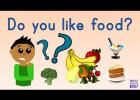 Do you like food? Song for kids. | Super English Kid! (Fruits, Vegetables, | Recurso educativo 765453