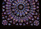 Rose window from the cathedral Notre Dame of Paris | Recurso educativo 777611