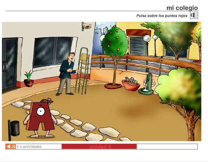 El jard n de mi colegio recurso educativo 40185 tiching for Colegio jardin de africa